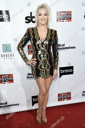 "Erika Girardi attends the LA Premiere of ""The Real Housewives of Beverly Hills"" Season 8 at Doheny Room, in West Hollywood, Calif"