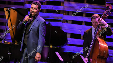 Editorial picture of Clint Holmes in concert at The Sorting Room at The Wallis, Los Angeles, USA - 15 Dec 2017