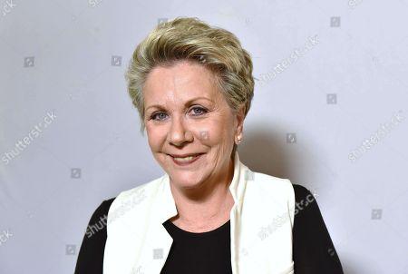 Editorial image of Francoise Laborde, journalist, Paris, France - 16 Dec 2017