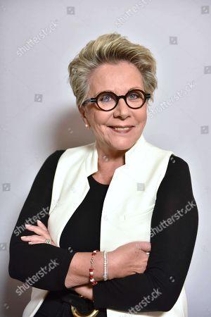 Editorial picture of Francoise Laborde, journalist, Paris, France - 16 Dec 2017