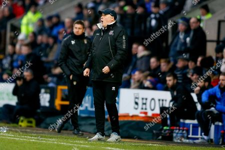 Grimsby Town Manager Russell Slade  during the EFL Sky Bet League 2 match between Notts County and Grimsby Town FC at Meadow Lane, Nottingham