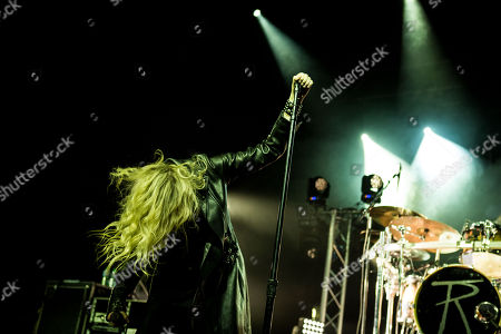 Editorial photo of The Pretty Reckless in concert at Alcatraz, Milan, Italy - 15 Dec 2017