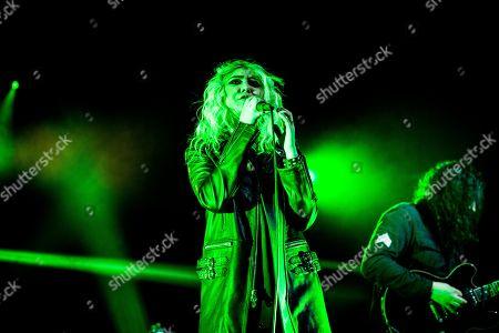 Pretty reckless concert alcatraz milan stock photos exclusive stock photo of the pretty reckless taylor momsen m4hsunfo