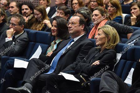 Sophia Aram Francois Hollande and Claire Chazal