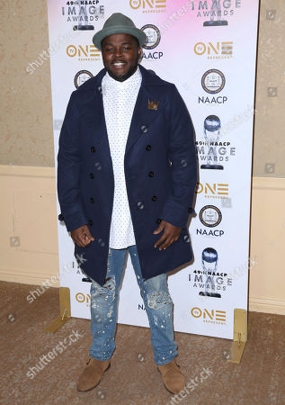 Catfish Jean arrives at the 49th NAACP Image Awards Nominees' Luncheon at the Beverly Hilton Hotel, in Beverly Hills, Calif