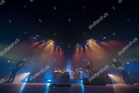 Editorial picture of Mogwai in concert at the Hydro, Glasgow, Scotland, UK - 16th December 2017