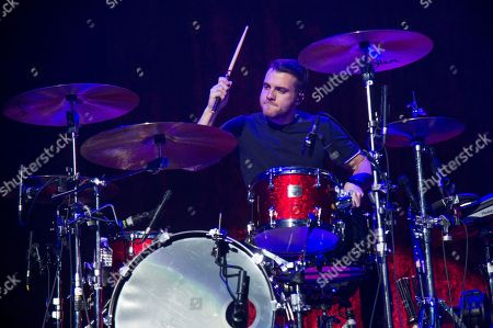 Rian Dawson of All Time Low performs at 93.3 FLZ's Jingle Ball at Amalie Arena, in Tampa, Fla