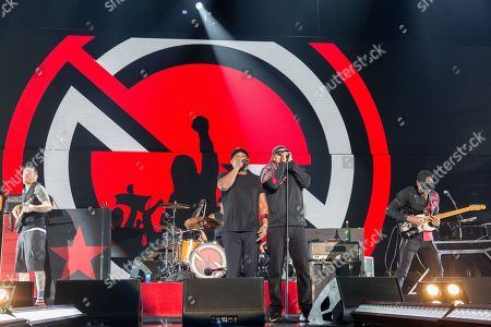 Prophets of Rage - Tim Commerford, Brad Wilk, Chuck D, B-Real and Tom Morello