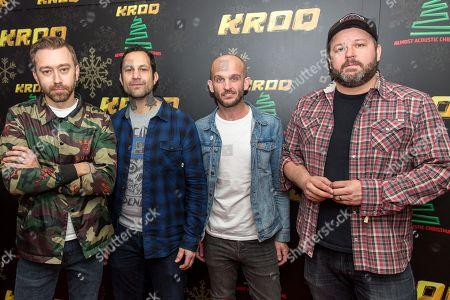 Rise Against - Tim McIlrath, Joe Principe, Zach Blair and Brandon Barnes