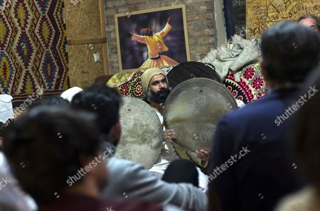 Iranian people attend 'Seb-i Arus' celebration to dance and chant to Sufi music at a local derwish convent (dergah) in Konya, Turkey, early 17 December 2017. 'Seb-i Arus' means reunited with the Beloved One. Mevlana's death is considered in Sufism to be his reunion with God. Poet Mevlana Jalal al-Din al-Rumi is an illustrious personage of Sufism is the mystical form of Islam. Rumi died on 17 December 1273.