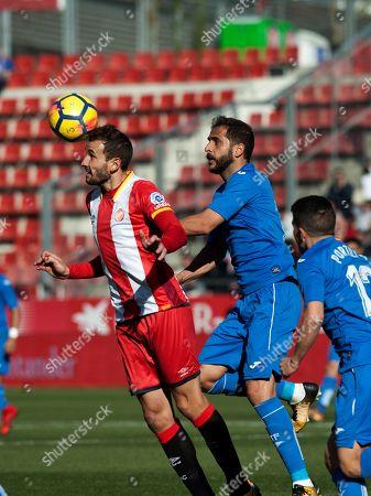 Editorial image of Girona vs Getafe, Spain - 17 Dec 2017