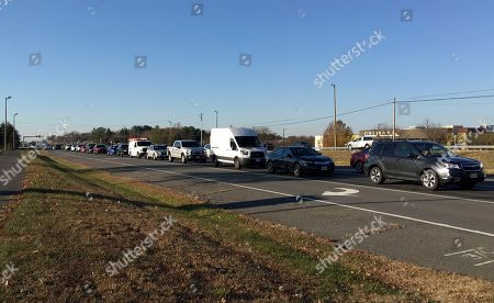 Traffic backs up during the morning rush hour in Centreville, Va., on northbound Route 28. Danica Roem made history when she became the first transgender woman elected to a state legislature. In the process, she made a northern Virginia highway famous by relentlessly touting her plan to fix the clogged road. Route 28 connects northern Virginia's outer suburbs and runs through Roem's district. Her campaign to improve the Commute on 28 even included a plug on the red carpet when she was interviewed at the American Music Awards