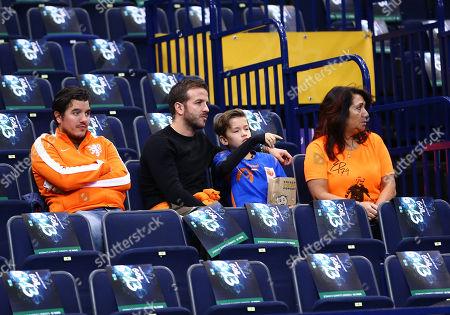 Fernando van der Vaart, Rafael van der Vaart mit Sohn Damian and Mutter Lolita van der Vaart