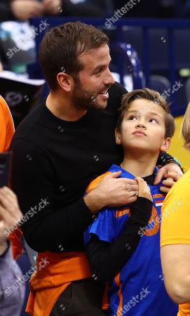 Rafael van der Vaart mit Sohn Damian