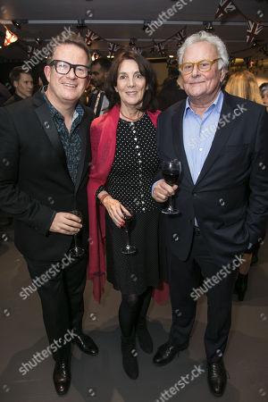 Stock Photo of Matthew Bourne (Director/Choreographer), Sue Birtwistle and Richard Eyre