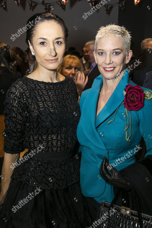 Michela Meazza (Sybil) and Patricia Kelly