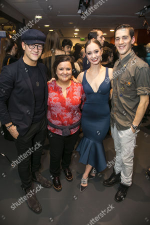 Kevin Clifton, Susan Calman, Ashley Shaw (Cinderella) and Dominic North (Harry)
