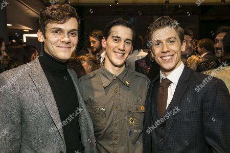 Will Bozier (Harry), Dominic North (Harry) and Andrew Monaghan (Harry)