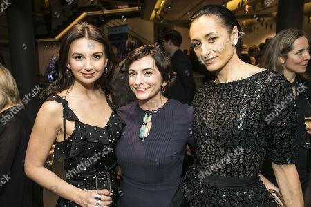 Zizi Vaigncourt-Strallen, Etta Murfitt (Associate Artisitc Director) and Michela Meazza (Sybil)