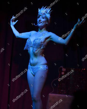 Editorial photo of The Erika Moon Holiday Spectacular Burlesque show, Miami Beach, USA - 16 Dec 2017