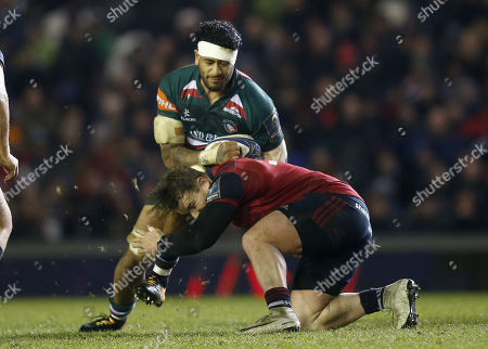 Editorial image of Leicester Tigers  v Munster Rugby, European Rugby Champions Cup, Welford Road, Leicester, UK -17th December  2017