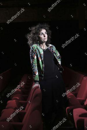 Editorial photo of Elisabeth Bouchaud portrait session, Paris, France - 06 Dec 2017
