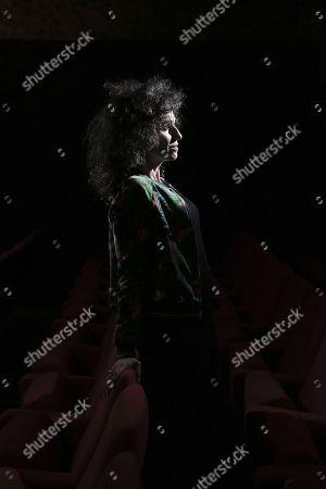 Editorial picture of Elisabeth Bouchaud portrait session, Paris, France - 06 Dec 2017