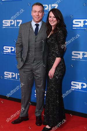 Stock Image of Sir Chris Hoy and Sarra Kemp