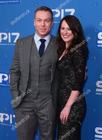 Sir Chris Hoy and Sarra Kemp