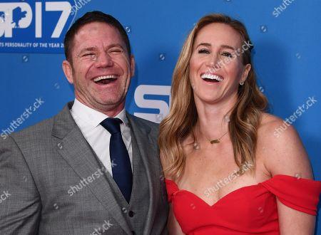 Steve Backshall and wife Helen Glover