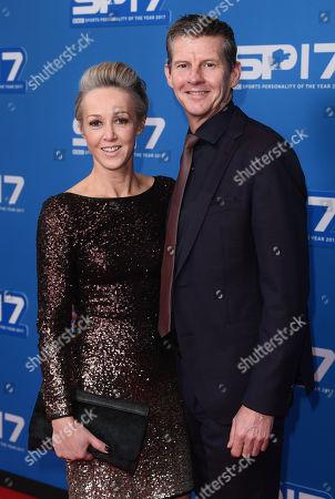 Steve Cram and wife