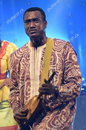 Editorial picture of Bassekou Kouyate in concert, Paris, France - 31 Mar 2017