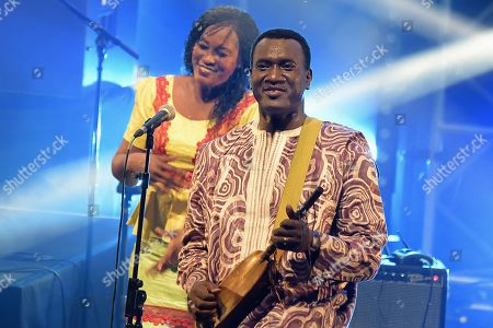 Editorial image of Bassekou Kouyate in concert, Paris, France - 31 Mar 2017