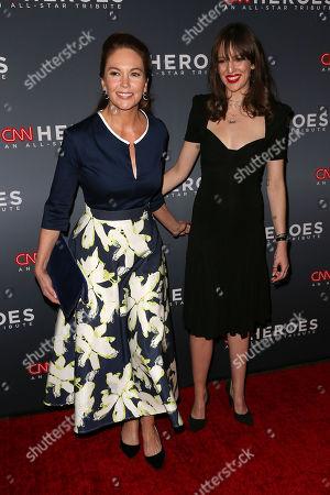 Diane Lane and daughter Eleanor Lambert
