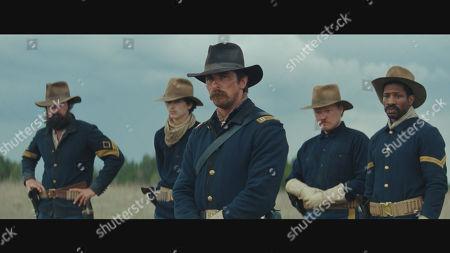 Rory Cochrane, Timothée Chalamet, Christian Bale, Jesse Plemons, Jonathan Majors