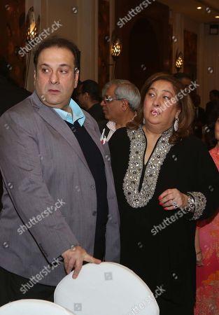 Reema Jain and Rajiv Kapoor