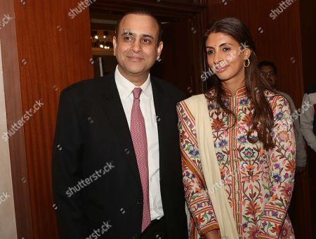 Nikhil Nanda and Shweta Bachchan Nanda