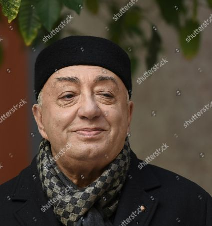 Italian actor/cast member Peppe Barra poses for photographs during the photo call for the movie 'Napoli velata', in Rome, Italy, 18 December 2017. The movie will be released in Italian theaters on 28 December.
