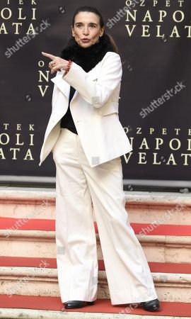 Italian actress/cast member Lina Sastri poses for photographs during the photo call for the movie 'Napoli velata', in Rome, Italy, 18 December 2017. The movie will be released in Italian theaters on 28 December.