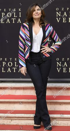 Italian actress/cast member Maria Pia Calzone poses for photographs during the photo call for the movie 'Napoli velata', in Rome, Italy, 18 December 2017. The movie will be released in Italian theaters on 28 December.