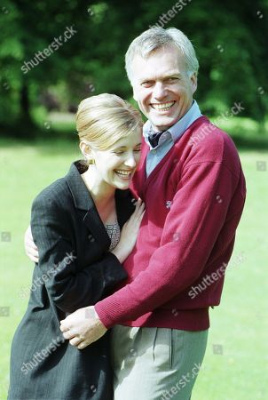 Ep 2408 Thursday 27th August 1998 Publicity shots of Lady Tara Oakwell, as played by Anna Brecon and Lord Michael Thornfield, as played by Malcolm Stoddard, from episodes in which Lady Tara's confidante and secret admirer Lord Michael Thornfield, out of the blue admits he loves her. Torn Tara has a big decision to make. Does she continue to try to rekindle her affair with Biff?