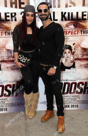 Editorial picture of 'Nirdosh' film trailer launch, Mumbai, India - 16 Dec 2017