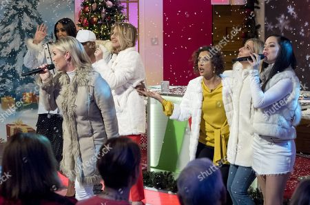 Editorial photo of 'Loose Women' TV show, London, UK - 18 Dec 2017
