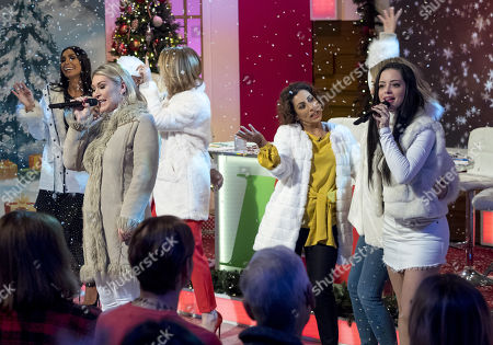 Editorial picture of 'Loose Women' TV show, London, UK - 18 Dec 2017