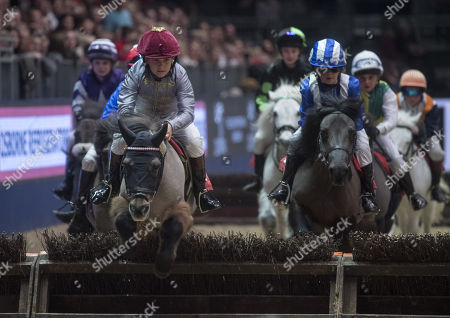 Stock Image of Rocco Dettori taking part in the International Horse show