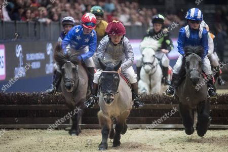 Rocco Dettori taking part in the International Horse show