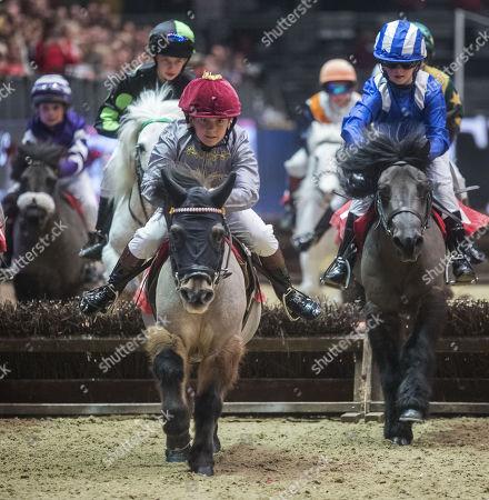 Editorial image of The London International Horse Show, UK - 15 Dec 2017