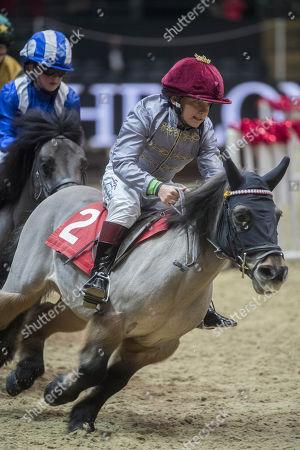 Editorial photo of The London International Horse Show, UK - 15 Dec 2017