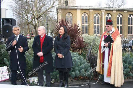 Sadiq Khan, John Biggs, Rushanara Ali, Rev. Alan Green
