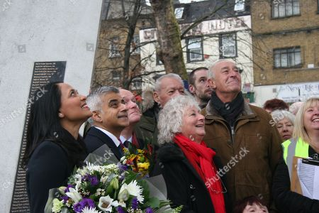 Rushanara Ali, Sadiq Khan, John Biggs, Mike Pattison, Sandra Scotting, Len Goodman